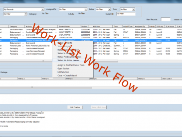 WorkListMyList w red title