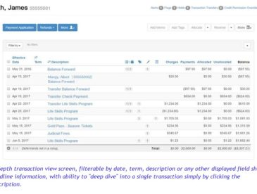 SARa Transaction View
